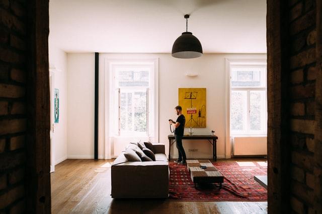 Lichtkoepel voor in de woonkamer