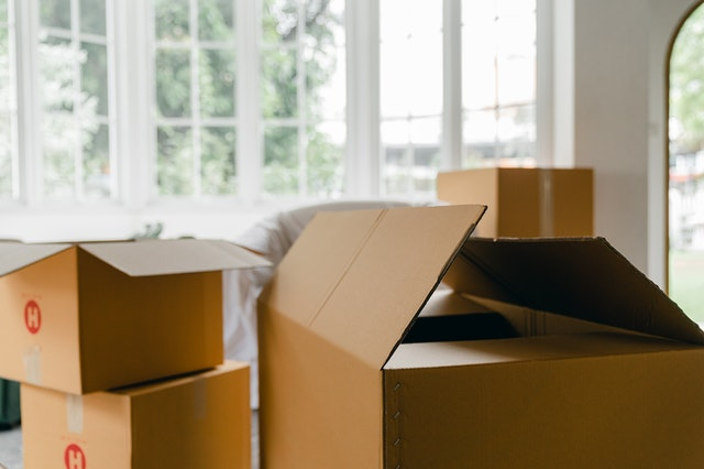 Hulp van een verhuisbedrijf